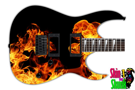 Buy Guitar Skin Fire Puff