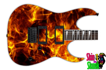 Buy Guitar Skin Fire Rise