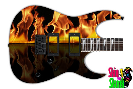 Buy Guitar Skin Fire Split