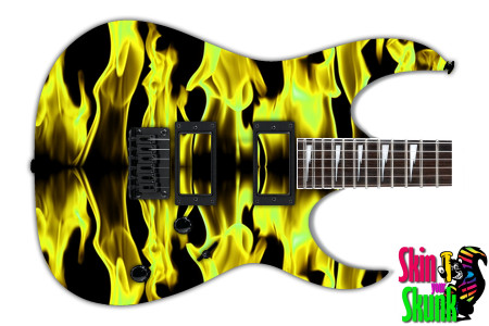 Buy Guitar Skin Fireline Gold