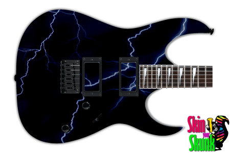 Buy Guitar Skin Lightning Blue