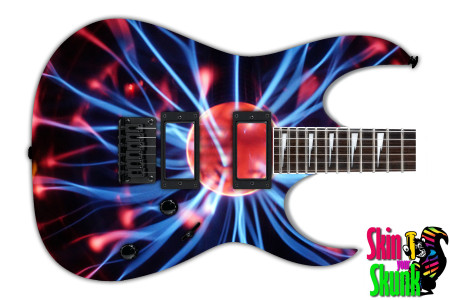 Buy Guitar Skin Lightning Bolts