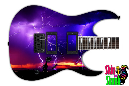 Buy Guitar Skin Lightning Colors