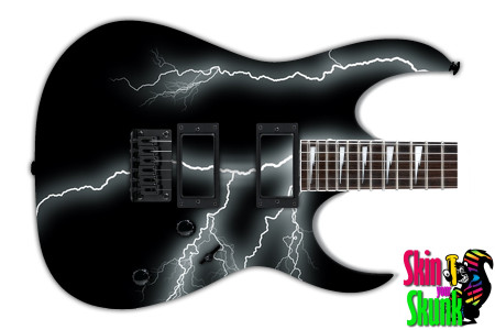 Buy Guitar Skin Lightning Dark