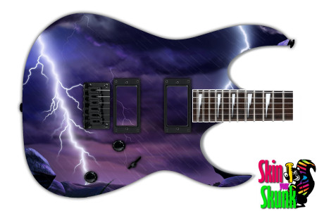 Buy Guitar Skin Lightning Fantasy