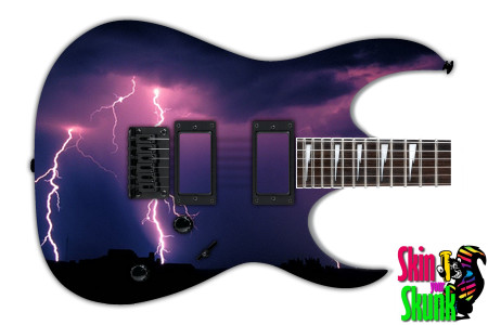 Buy Guitar Skin Lightning Night