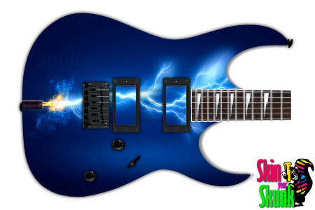 Buy Guitar Skin Lightning Power