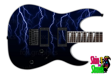Buy Guitar Skin Lightning Shadow