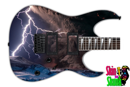 Buy Guitar Skin Lightning Storm