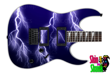Buy Guitar Skin Lightning Vector