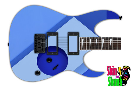 Buy Guitar Skin Geometric Bluehole