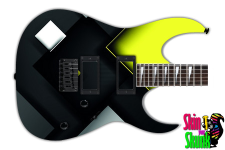 Buy Guitar Skin Geometric Dark