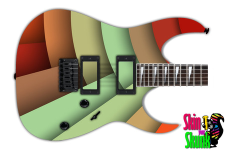 Buy Guitar Skin Geometric Fan