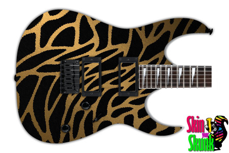 Buy Guitar Skin Geometric Giraffe
