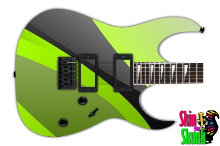 Buy Guitar Skin Geometric Lime