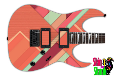 Buy Guitar Skin Geometric Mat