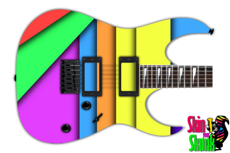 Buy Guitar Skin Geometric Rain