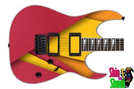 Buy Guitar Skin Geometric Rose