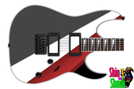 Buy Guitar Skin Geometric Run