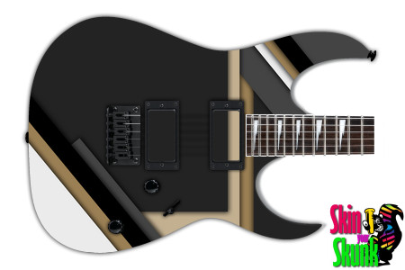 Buy Guitar Skin Geometric Tux