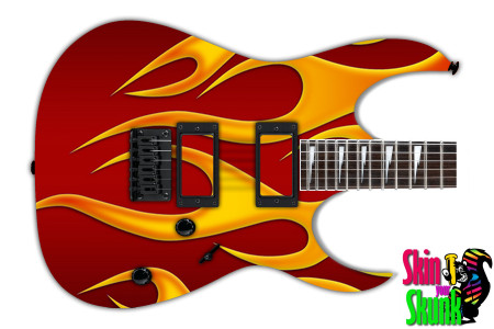 Buy Guitar Skin Hotrod Fire Right
