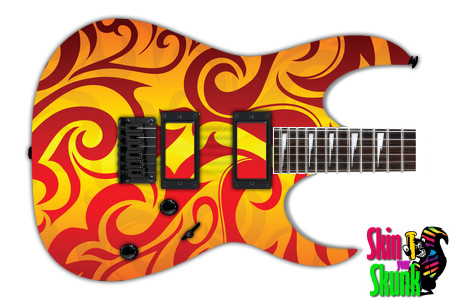 Buy Guitar Skin Hotrod Tribal
