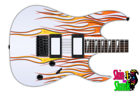 Buy Guitar Skin Hotrod White Right