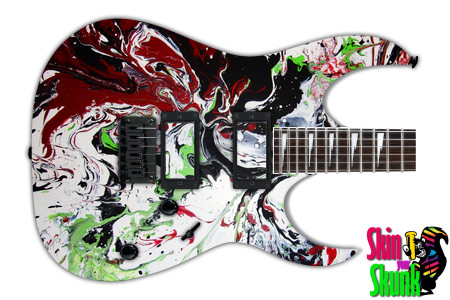 Buy Guitar Skin Paint1 Angry