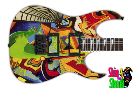 Buy Guitar Skin Paint2 Fracture