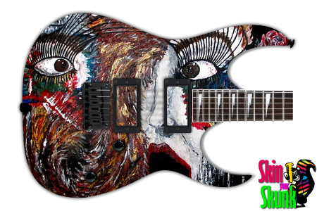 Buy Guitar Skin Paint2 Scared