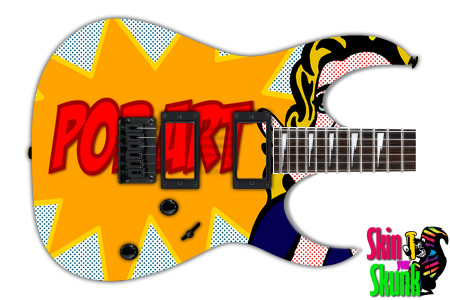 Buy Guitar Skin Radical Art