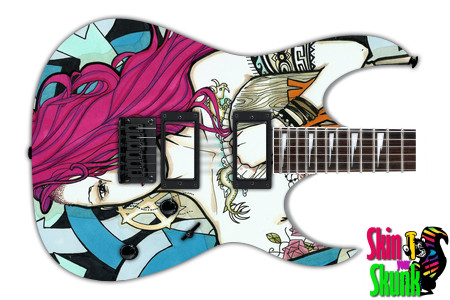 Buy Guitar Skin Radical Chick