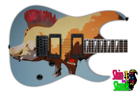 Buy Guitar Skin Radical Pig