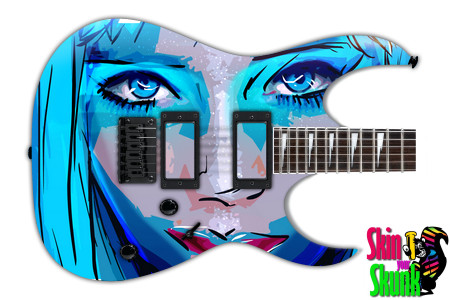 Buy Guitar Skin Radical Sexy