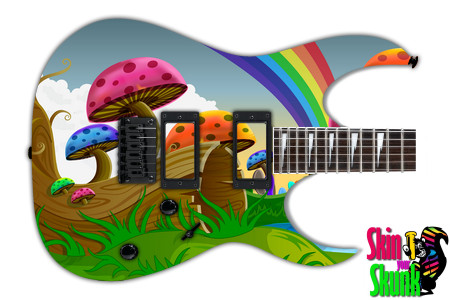 Buy Guitar Skin Radical Shrooms