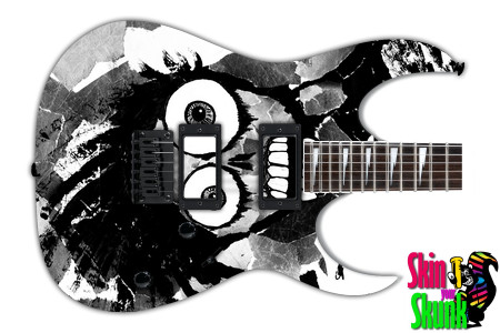 Buy Guitar Skin Radical Skull