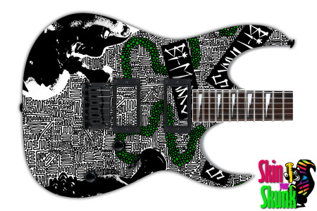 Buy Guitar Skin Radical Smoke