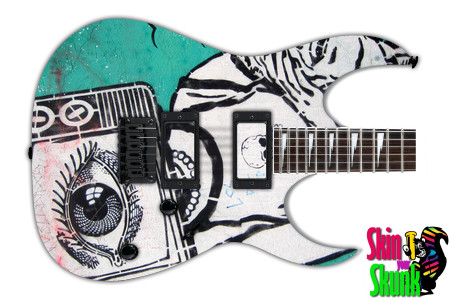 Buy Guitar Skin Radical Tv