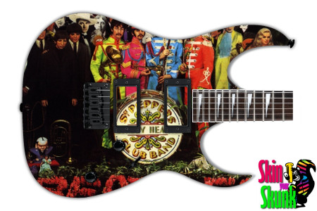 Buy Guitar Skin Rockart Beatles