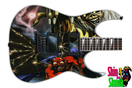Buy Guitar Skin Rockart Head
