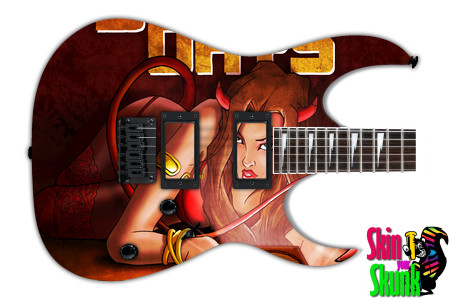 Buy Guitar Skin Rockart Horns