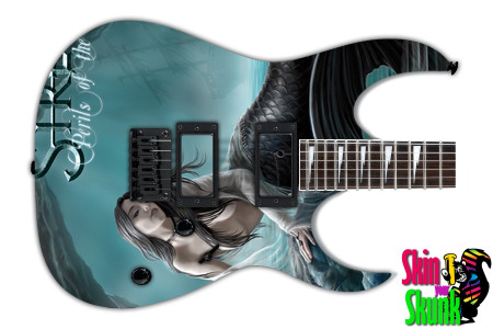 Buy Guitar Skin Rockart Mermaid