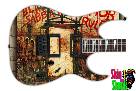 Buy Guitar Skin Rockart Mob