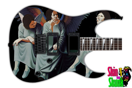 Buy Guitar Skin Rockart Smoke