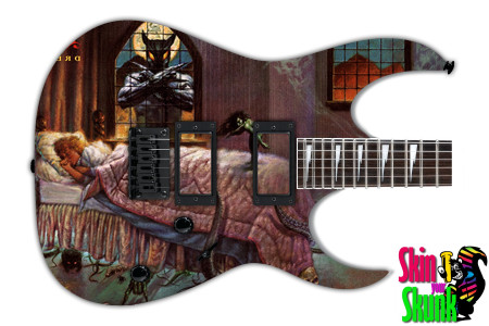 Buy Guitar Skin Rockart Window