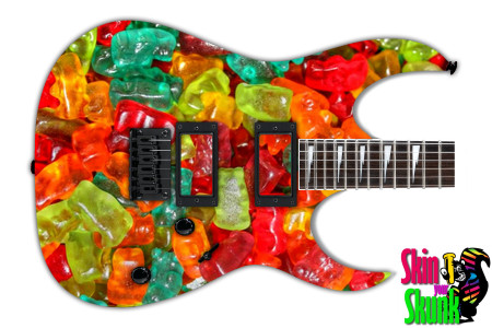 Buy Guitar Skin Texture Bears