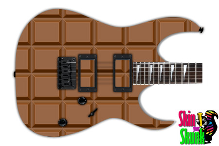 Buy Guitar Skin Texture Chocolate