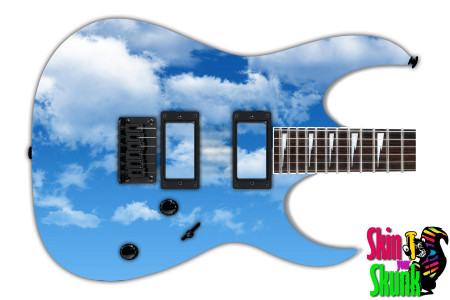Buy Guitar Skin Texture Clouds