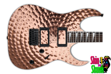 Buy Guitar Skin Texture Copper