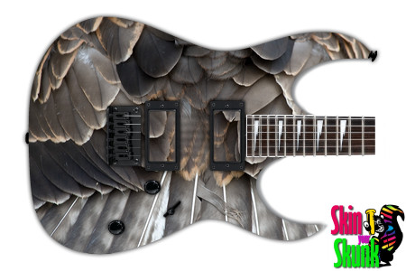 Buy Guitar Skin Texture Feathers